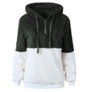 Tops - Plush Fleece Pullover Hoodie